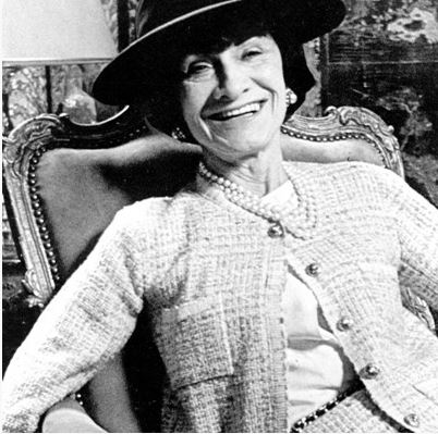 Coco Chanel in Linton tweed