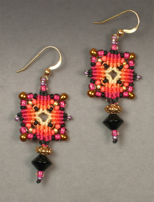Joan Babcock earrings #1