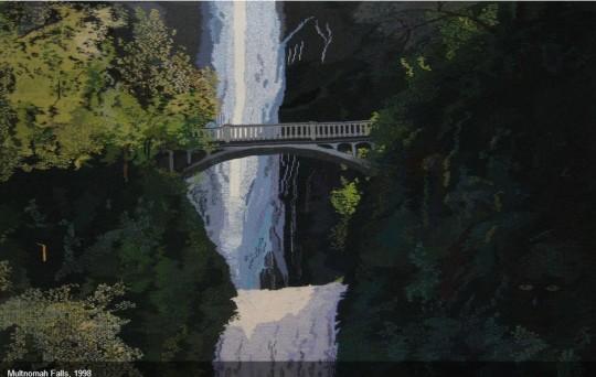 Cecilia Blomber - Multnomah Falls